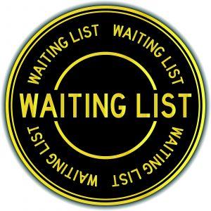 Waiting list chiropractic practice